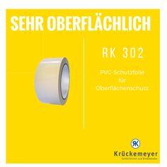 RK 302 - PVC Schutzfolie für Oberflächenschutz #Krueckemeyer #Klebeband #Kleben #Adhesive #Tape #Oberflächenschutz