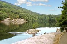 Bear Mountain State Park has the Appalachian Trail, an outdoor skating rink, swimming pool and many other possibilities.