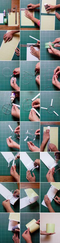 Paper Lanterns DIY | Oh Happy Day!