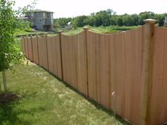 Enhance the beauty of your property with cedar fencing expertly designed and installed by Dakota Unlimited.