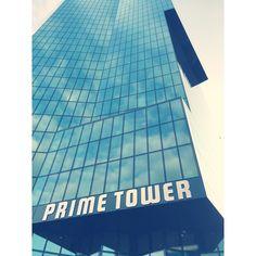 Zürich - Primetower #zürich #zürichsee #primetower #travel #der #reiseblog #reise