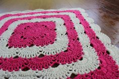 Jonna Martinez: Crochet Virus Blanket Pattern