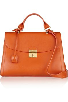 1984 textured-leather shoulder bag | Marc Jacobs | THE OUTNET