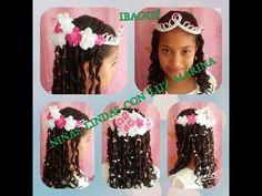 PEINADO INFANTIL/CON FLORES/FACIL/BONITO. - YouTube My Girl, Hair Styles, Girls, Youtube, Fashion, Curly, Child Hairstyles, Girl Hairstyles, Party Hairstyles