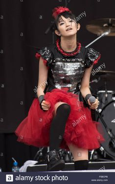 Stock Photo - Performances Day 3 Leeds Festival 2015 Featuring: Babymetal Where: Leeds, United Kingdom When: 31 Aug 2015 C Leeds United, Japanese Girl, Metals, United Kingdom, Vectors, The Unit, Stock Photos, Rock, Music