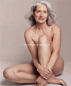 Sensual senior nude photography
