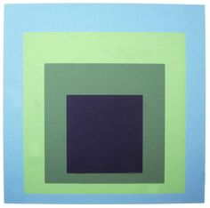 Chicago Art Review - Joseph Albers, Homage to a Square Ascending Josef Albers, Anni Albers, Bauhaus, Hard Edge Painting, Action Painting, Op Art, Graffiti, Color Studies, Art Abstrait