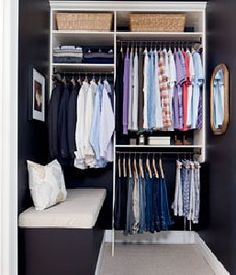 Before and after: Walk-in closet makeover