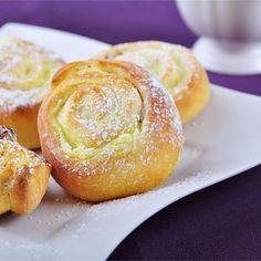 Polish Recipes, Polish Food, Protein Bars, Doughnut, Cantaloupe, French Toast, Muffin, Pudding, Fruit