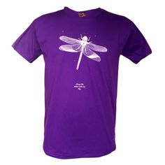 Excuse me while I kiss the sky (paying homage to Jimi Hendrix, Purple Haze), T-shirt: The Traveller