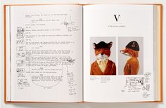 Aus: The Making oh Fantastic Mr Fox – Wes Anderson