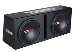 DS18 BPX212A 1300 Watts Complete Bass Package with Double...
