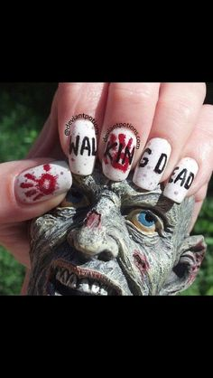 Walking Dead Nail Art!!