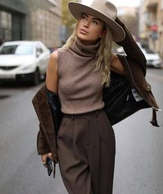 Ideas for moda casual summer hats Casual Chic Summer, Winter Fashion Casual, Casual Winter Outfits, Casual Chic Style, Casual Street Style, Boho Fashion, Dress Casual, Trendy Fashion, Fashion Ideas