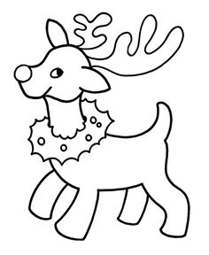 printables easy pre k christmas coloring pages - Christmas Coloring Pages For Toddlers