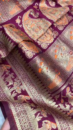 Ethnic Sarees, Banarasi Sarees, Silk Sarees, Lehenga, Designer Sarees Wedding, Saree Wedding, Sari Fabric, Superior Quality, Saree Blouse Designs