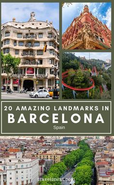 20 Incredible Landmarks in Barcelona. The church is a grand statement of Catalan design. Although since his death many other architects have worked to complete La Sagrada Família, Gaudí's design style is immortalised through each stone laid and each piece of ornate glasswork. #europe #spain #traveltips #spanish #vacation #travelideas Historical Landmarks, Famous Landmarks, Barceloneta Beach, Gaudi, Barcelona Spain, Spain Travel, European Travel, Architects, Travel Inspiration