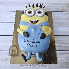 59BD. Tort Minionek Bob. Minion cake 🎂