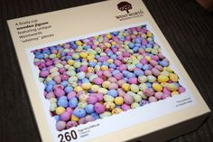 Wentworth Puzzles - Mini Chocolate Easter Egg Jigsaw #review #jigsaw #puzzle #easter