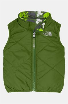 The North Face 'Perrito' Reversible Vest (Infant) available at #Nordstrom