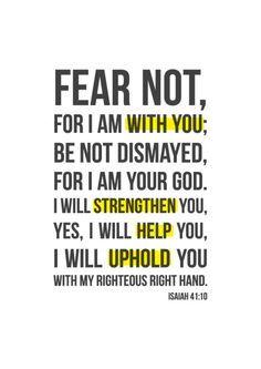 Overcome Fear on Pinterest | No Fear, Phobias and Faith