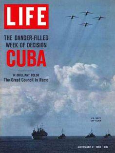 Life Magazine Copyright 1962 Cuban Missile Crisis US Navy - www.MadMenArt.com…