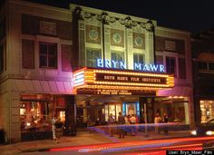 Bryn Mawr Film Institute  In Bryn Mawr, PA, a highly success film venture. The exterior is featured briefly in SILVER LINGINGS PLAYBOOK.