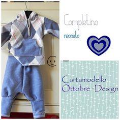 The Lovely Sewing - Il Cucito Incantevole: Completino neonato - complete newborn baby