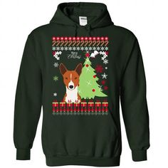 basenji Christmas - #customized hoodies #white hoodies. BUY-TODAY => https://www.sunfrog.com/Pets/basenji-Christmas-7224-Forest-Hoodie.html?id=60505