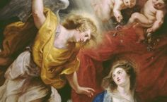 Rubens, Pierre Paul - L'Annonciation - Rubenshuis, Anvers
