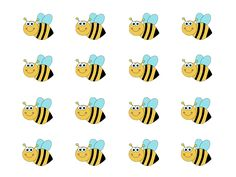 Use with Bee Bee Bumblebee or Hickety Pickety Bumblebee