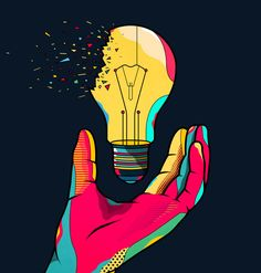 Hackathon Reply by Van Orton Design Event Poster Design, Creative Poster Design, Creative Posters, Graphic Design Posters, Graphic Design Illustration, Digital Illustration, Arte Popular, Living At Home, Mural Art