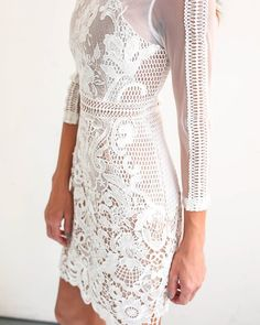 PREORDER - My Forever Lace Dress - White