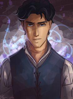 This Dorian art... Oh, my heart! [Scars - Dorian by taratjah on DeviantArt]