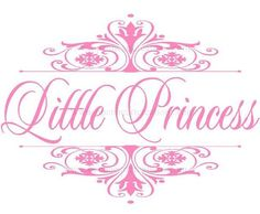 Princess Vinyl Wall Decal  Elegant Damask by openheartcreations, $45.00 Baby Scrapbook, Scrapbook Pages, Scrapbooking, Crown Printable, Baby Posters, Pink Quotes, Vinyl Crafts, Diy Birthday, Diy Craft Projects