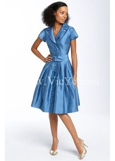 Fantastic Belted Silk Shantung Mother of the Bride Dress, Simple Mother of The Bride Dresses - Vicyc.com