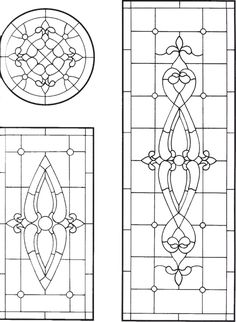 Plantilla 590 Antique Stained Glass Windows, Faux Stained Glass, Stained Glass Panels, Leaded Glass, Beveled Glass, Mosaic Glass, Stained Glass Patterns Free, Stained Glass Designs, Pebeo Paint