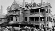 Kirkham- 'Camelot' in the suburb of Camden , Sydney AUSTRALIA 1903.