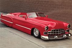 1948 CADILLAC CUSTOM CONVERTIBLE - Barrett-Jackson Auction Company - World's Greatest Collector Car Auctions