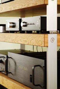 Hifi Regal, Audio Rack, Sound Studio, Very Clever, Craft Business, Real Wood, Timeless Design, Crossover, Plank