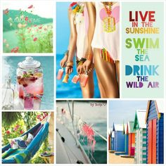 Live in the sunshine. inspirationboard byJeetje♡