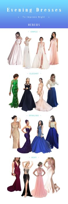 Evening Dresses, Cheap Evening Gowns For Women 2020 - Hebeos Gala Dresses, Dressy Dresses, Homecoming Dresses, Cute Dresses, Bridesmaid Dresses, Wedding Bridesmaids, Cheap Evening Gowns, Affordable Evening Dresses, Look Formal