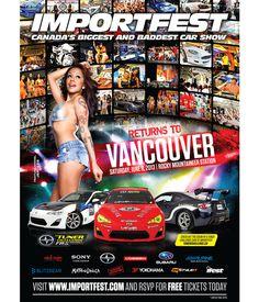 2013 IMPORT FEST VANCOUVER Those Were The Days, Yokohama, Showgirls, Car Show, Rocky Mountains, Subaru, Vancouver, Sea, Models