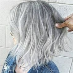 Choppy gray balayage bob grey brown hair, grey ombre hair, grey blonde, s. Grey Brown Hair, Grey Ombre Hair, Grey Wig, Short Grey Hair, Silver Grey Hair, Silver Color, Grey Hair Bob, Dark Brown, White Ombre