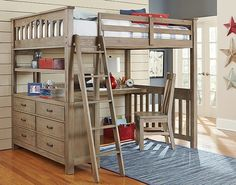 Maximize the space without sacrificing comfort with modern full-size loft beds. Loft Bed deals offers modern, full-size metal loft beds for adults with desk at affordable prices.