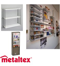 Metaltex+Libro+70x21x68+cm+modulihylly+ +Karkkainen.com+verkkokauppa