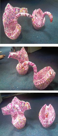 made from lottery tickets
