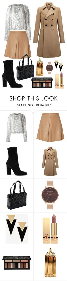 """""""Fall look 🍂🍂🍂"""" by vlada7777 ❤ liked on Polyvore featuring Filles à papa, Alice + Olivia, Alexander Wang, Miss Selfridge, Olivia Burton, Yves Saint Laurent, Kat Von D and Thierry Mugler"""