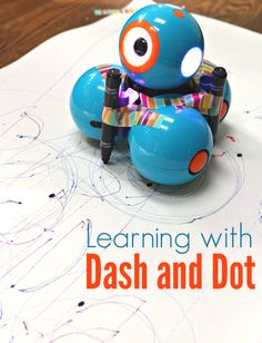 Learning with Dash & Dot – Coding and Robot Art