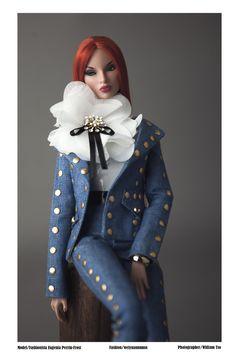 Wearing:weiyuannnnn Special Thanks To:Ray Diva Dolls, Barbie Dolls, Art Dolls, Pretty Dolls, Beautiful Dolls, Fashion Royalty Dolls, Fashion Dolls, Hi Fashion, Little Doll